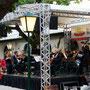 Im Gastgarten Klosterhof - das Johann-Strauß-Ensemble