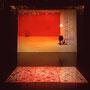 SHE DISSOLVES, video installation,2000