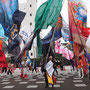 旗の競演/岩崎佐代子さん