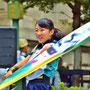 おどりんちゅうの旗手(可愛い笑顔)/山口芳久さん