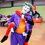 newt cosplay harley quinn joker