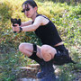 lara croft newt cosplay chippie film