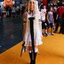 chii robe blanche noir newt cosplay