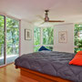 Fredrickson Nagle House: A great room in the trees full of daylight without the solar heat gain.