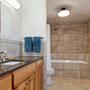 Owens-Pike Net Zero Energy Home: Low flow toilets and plumbing fixtures.