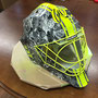 Hockey Maske (Stickerbomb) mit Airbrush