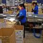 Riunione SECOM 2014..reparto cablaggio e collaudo