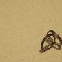 M様 結婚指輪 K18YG  鎚目酸化仕上げ、磨き仕上げ 2016