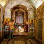 mariabrunnen in der kirche des heiligen gabriel
