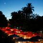 der nachtmarkt von oben