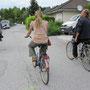 mit dem drahtesel unterwegs in salzburg mit den beiden touristenführern eva und harry