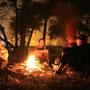 grillabend auf dem campingplatz