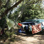 camping auf der insel samothraki, griechenland