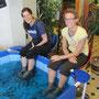 lustiges erlebnis beim fisch spa