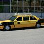 die taxis sind eine nummer grösser wie bei uns