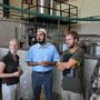 besichtigung einer marmeladenfabrik, haben uns als journalisten ausgegeben