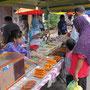 allabendlicher essensmarkt für die fastenden muslime
