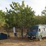 camping kawanserei beim berg nemrut, türkei
