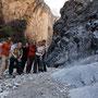 gruppenfoto im snake canyon