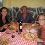 erste station in italien: eine pizzaria