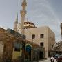 nicht nur kirchen, auch moscheen gibt es in madaba