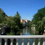 unterwegs in der schönen altstadt von ljubliana