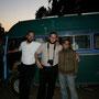 die israelis sind begeistert von unserm bus und unserer reise