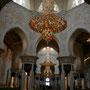schöne verzierungen im innern der moschee