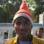 die ersten inder sind in weihnachtsstimmung
