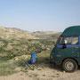 rastplatz oberhalb vom wadi al karak