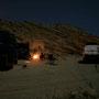 bevor die eltern kommen, verbringen wir noch einen abend mit markus am qantab beach