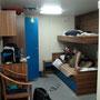 unsere kabine