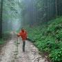 während den regenpausen gehn wir wandern
