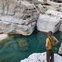 unterwegs im wadi shab