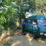 camping in pamukkale, türkei