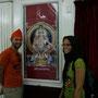 besuch eines indischen tempel in dubai (kopfbedeckung ist obligatorisch!)