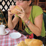 dank den franzosen gibt es an jeder ecke leckere baquettes und sandwiches