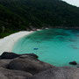 beach in den similan island
