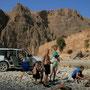 grillen im wadi arbyyin