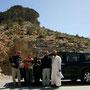 zusammen mit said auf der passhöhe im wadi bani awf
