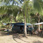 37_gemütliches plätzchen unter palmen in arambol