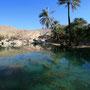 einer der vielen schönen pool's im wadi