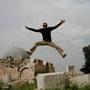 big jump auf dem citadellen hügel
