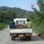 eiertransport auf laotisch