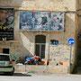 märtyrer bilder hängen an ihren ehemaligen häusern