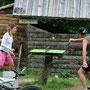die ping pong tische sind ziemlich klein in slowenien