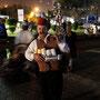 türkischer teeverkäufer am muscat festival