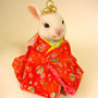 No.134 ウサギの雛人形 (オーダー品)
