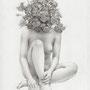 凌霄葉蓮 / 2013 / pencil on paper / 227×158mm