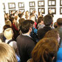 yes, there were a few paople at the vernissage